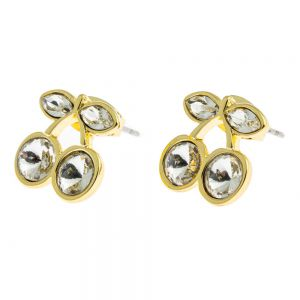 OUTLINE EARRING GOLD ONE